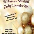 """KOLLUM – Komt allen tezamen! Op zondag 21 december om 19.30 uur is er een Kerstsamenzang in de Oosterkerk in Kollum. Brassband """"Wilhelmina"""" zal onder leiding van Jaap Hoekstra deze […]"""
