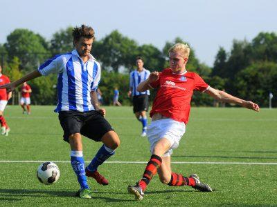 Martijn van Roeden scoort de 1e goal