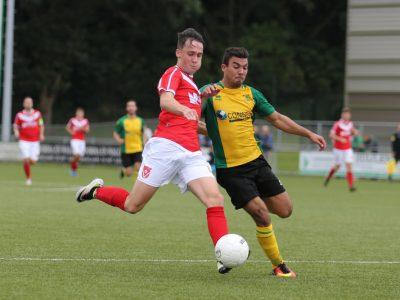 3e divisie seizoen 2016/2017 Huizen v Harkemase Boys
