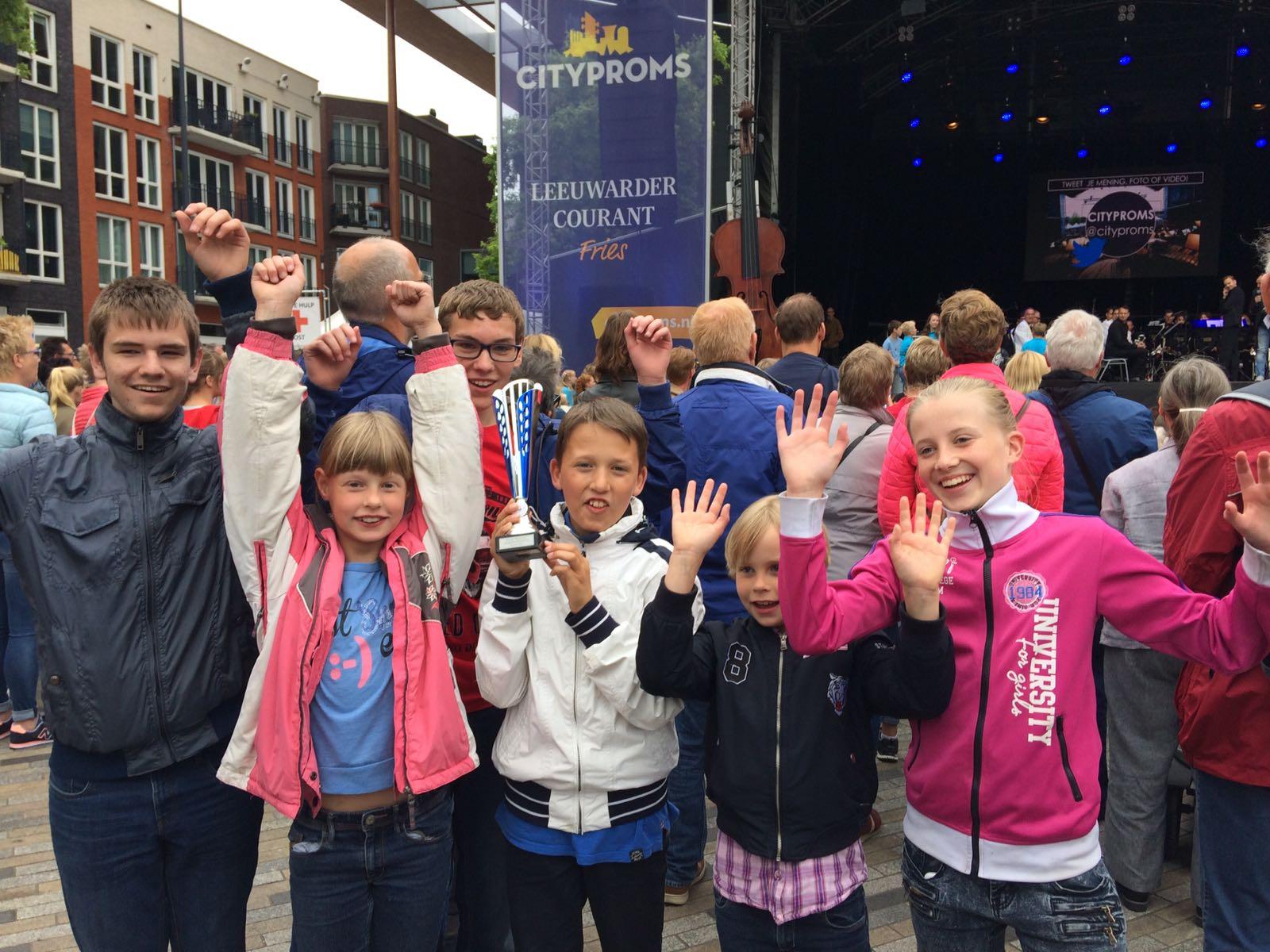 Jeugdorkest De Bazuin Triemen-Westergeest wint 2e prijs op jeugdorkestenfestival