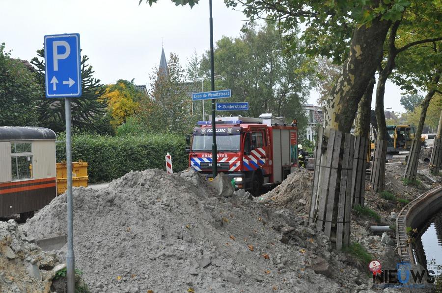 Photo of Brandweer rukt uit voor gaslekkage
