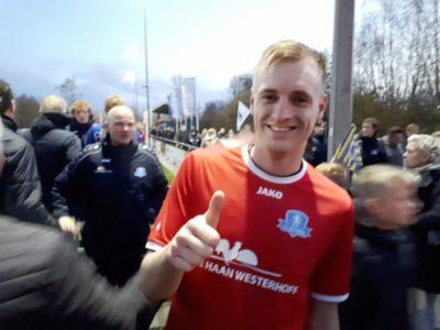 Rob Dijkstra matchwinnaar in Dokkum