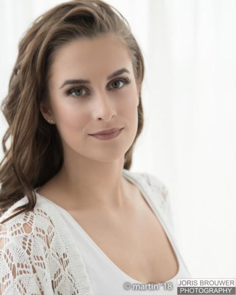 Fiona Dorenbos finalist voor Miss Teen of Friesland