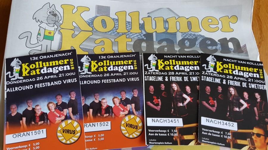 Win twee toegangskaarten voor Oranjenach of N8 van Kollum
