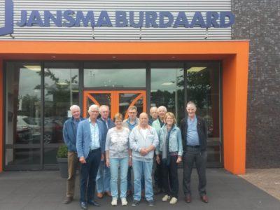 Werkbezoek Jansma Birdaard, d.d. 22-06-2018