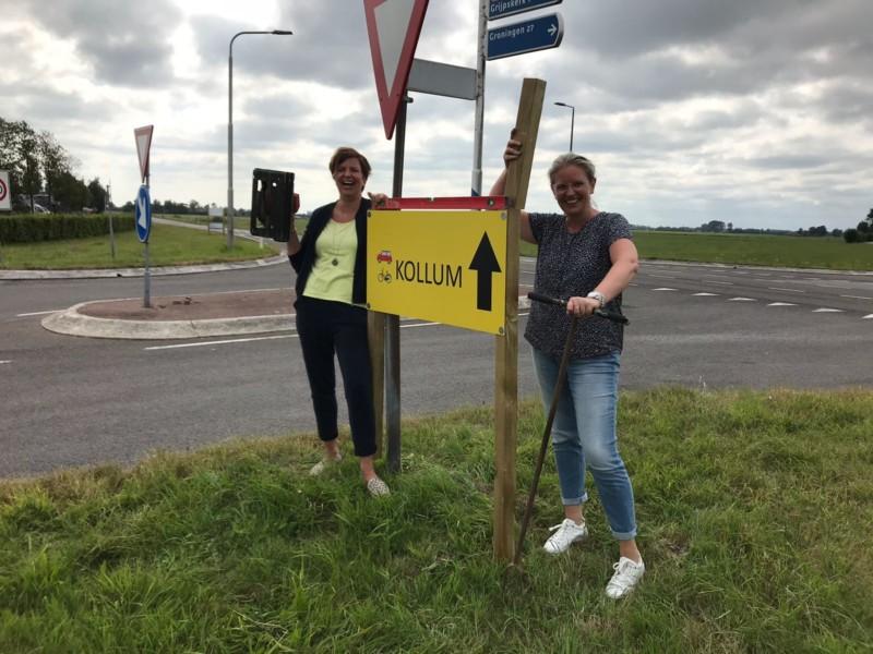 Kollum beter bereikbaar dankzij twee vrouwelijke ondernemers