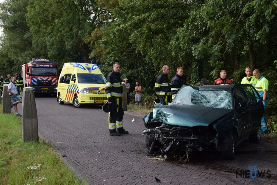 Photo of Forse crash op Trekwei bij Westergeest (video)