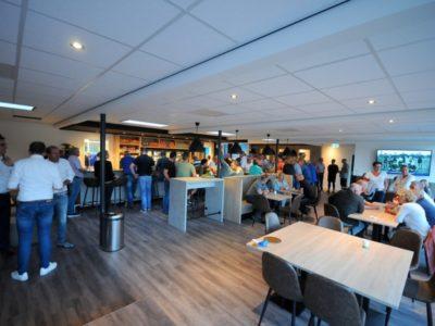 De vernieuwde kantine van VV Buitenpost