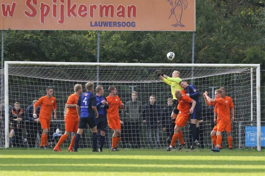 VV Kollum lijdt een pijnlijke nederlaag tegen Zwaagwesteinde