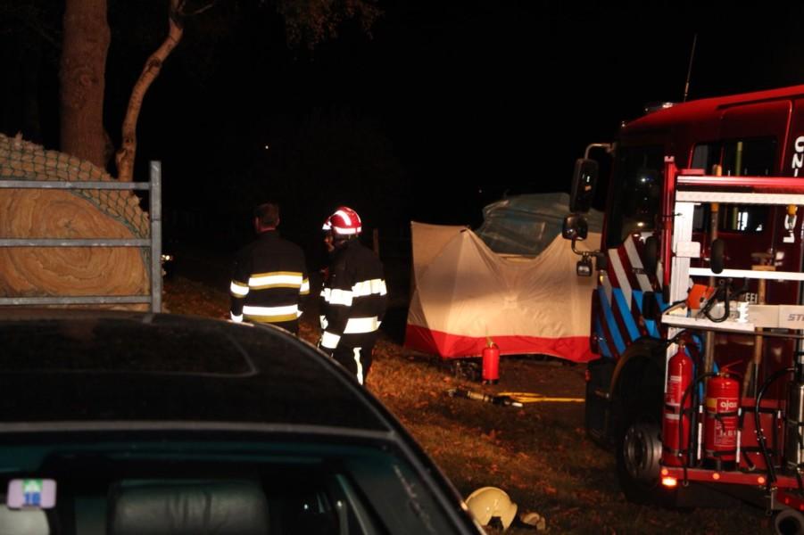 Bestuurder (40) uit Achtkarspelen overleden bij eenzijdig ongeval in Haule