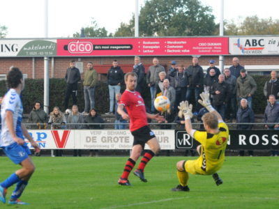 Rob Dijkstra maakte de winnende 3-4 in Wezep