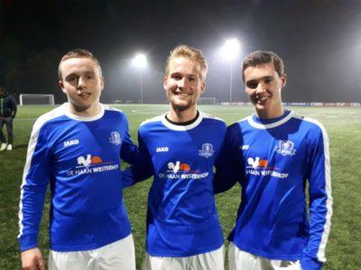Justin Sletering, Hesse Woertink en Willem de Boer