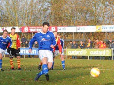 Robin Huisman de Jong benut een strafschop