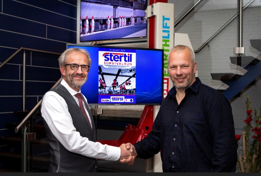 Stertil nieuwe hoofdsponsor survivalrun Kootstertille