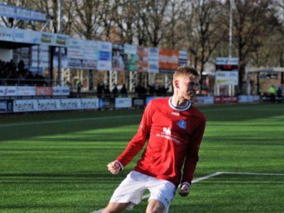Rolf Dijk tekende voor de gelijkmaker in blessuretijd