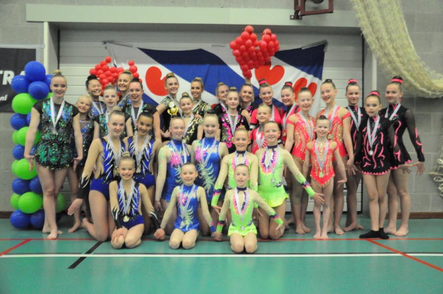 WSBF organiseert geslaagd Open Fries Kampioenschap acrogym