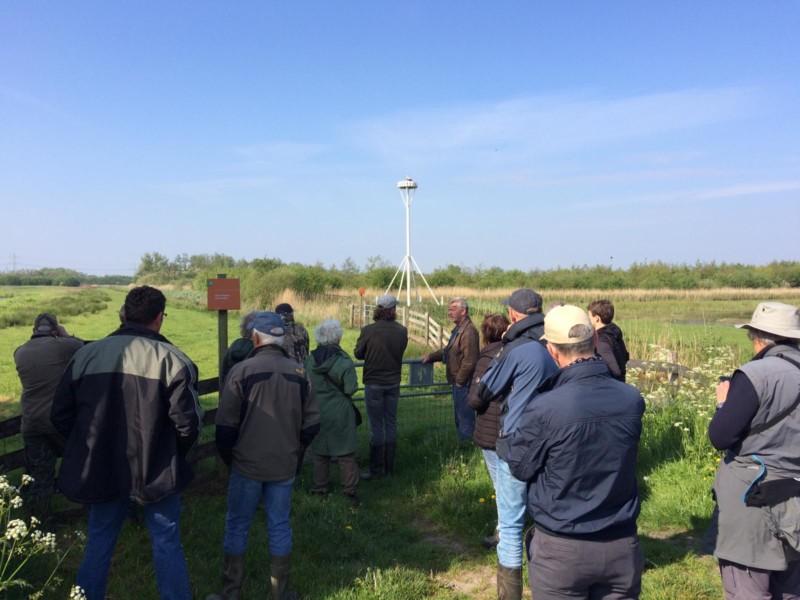 Vogelwacht Kollum e.o. op excursie in Twijzelermieden