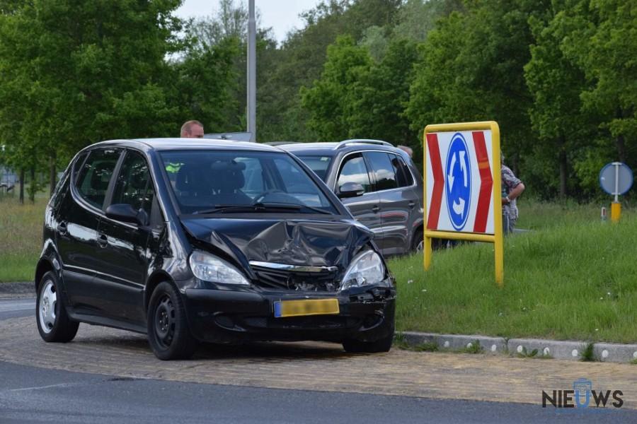 Photo of Kop-staartbotsing op Lauwersmeerweg bij Kollum