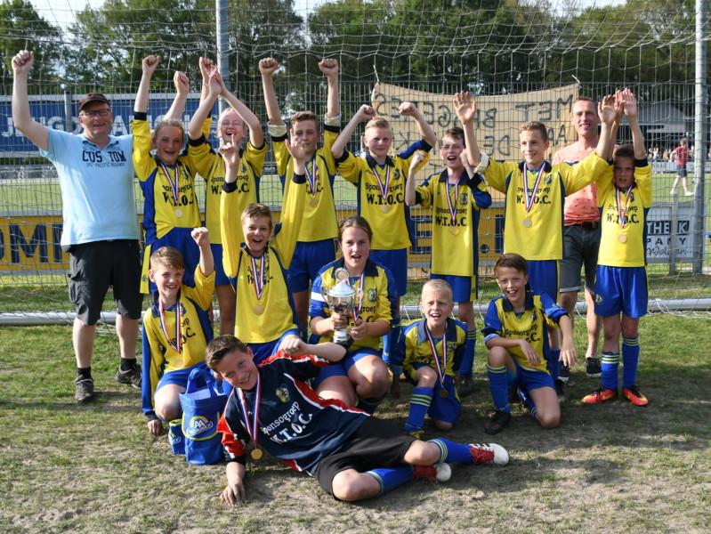 Photo of WTOC JO 13-1g kampioen KNVB Beker in Zuidwolde