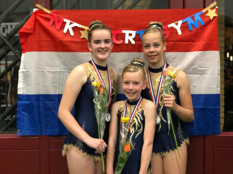 Photo of Tweede plek voor acro team Wardy Kollum in Oss