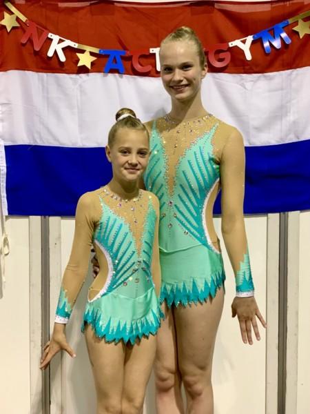 Wardy Kollum vierde tijdens NK in Ahoy Rotterdam