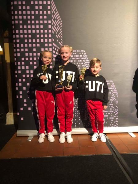 Kollum drie Nederlandse kampioenen rijker!