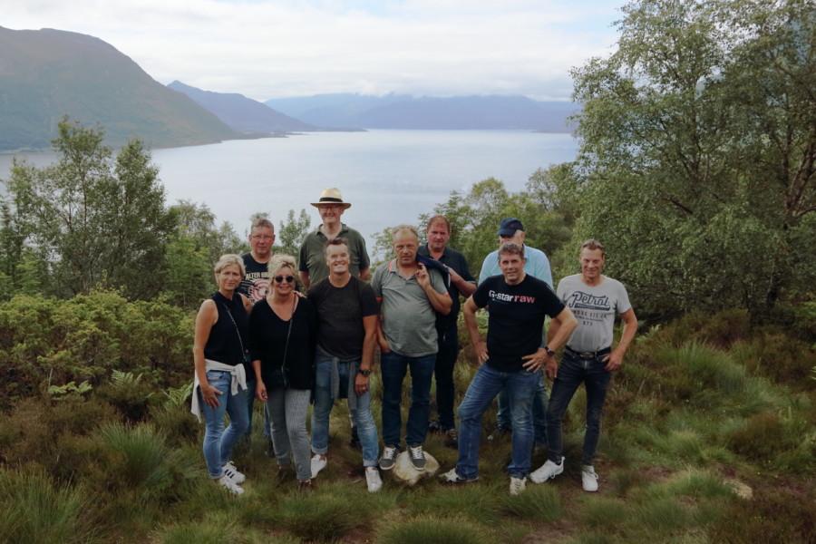 Photo of Oud klasgenoten OBS It Skriuwboerd op uitnodiging naar Noorwegen