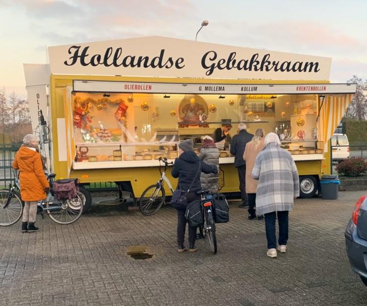 Photo of Hollandse Gebakkraam Gerard Mollema bij tuincentrum 'Tuin!' in De Westereen