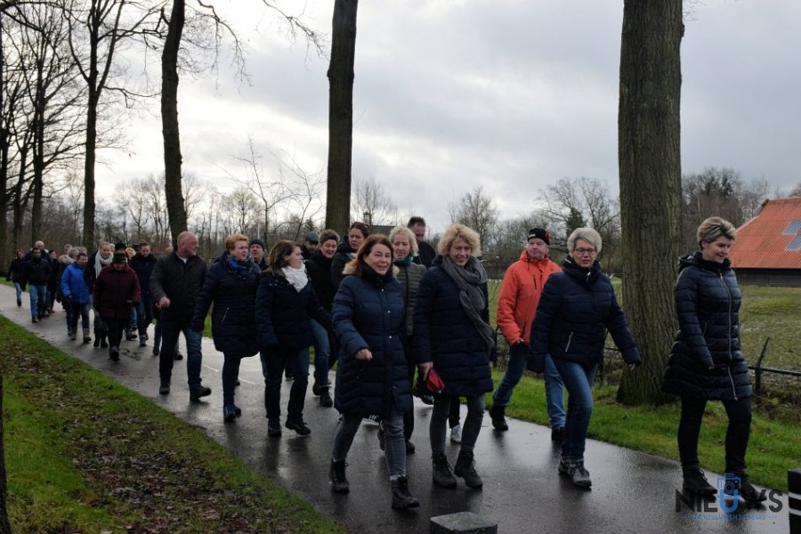 Photo of Zaterdag 4 januari Club van 100 Wandeltocht en Nieuwjaarsloop vv Kollum