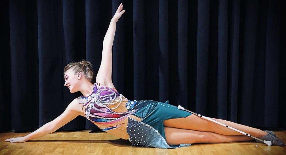 Photo of Knappe prestatie van Esmee Nauta tijdens NK Twirl
