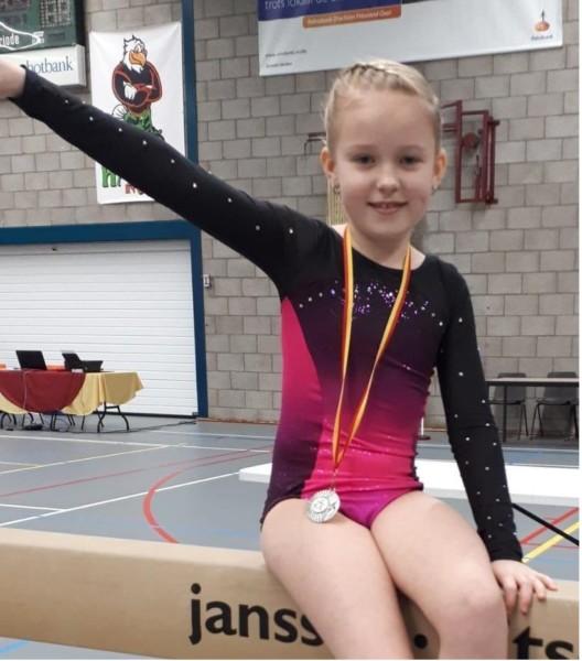 Photo of Zilveren medaille voor Elise van der Ploeg