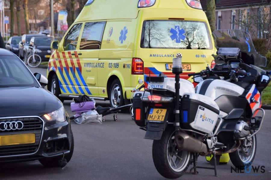 Photo of Fietsster gewond na botsing met auto in Kollum