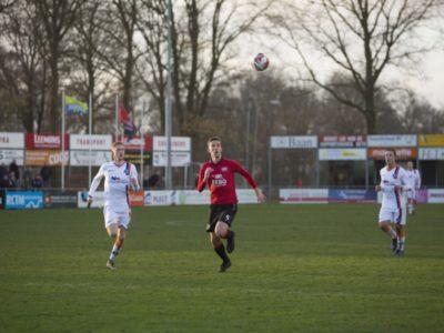 Rolf Dijk (links) scoorde 2 x tegen Deto, Rudmer Loonstra (rechts) 1 x
