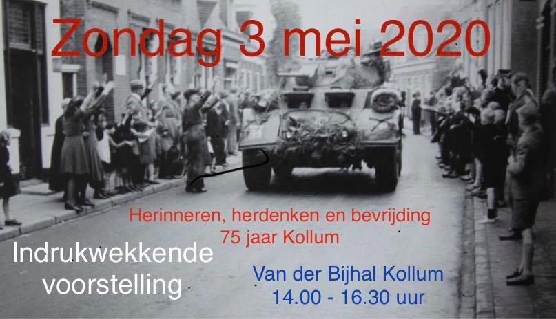 Photo of Herinneren, herdenken en bevrijding 75 jaar Kollum