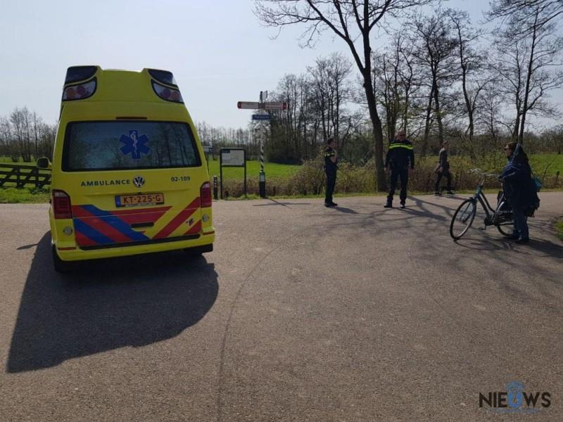 Photo of Fietsster gewond na botsing bij Kollum