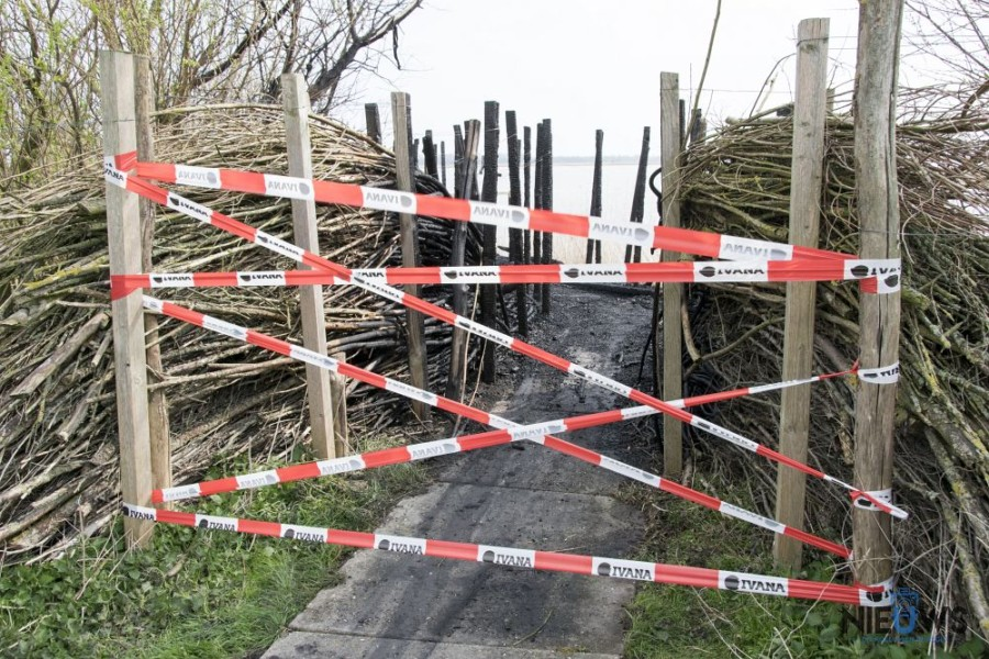Photo of Vogelkijkhut bij Ezumazijl gaat verloren bij brand