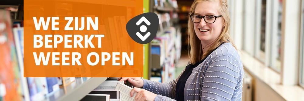 Photo of Bibliotheek is weer open, wel beperkte dienstverlening