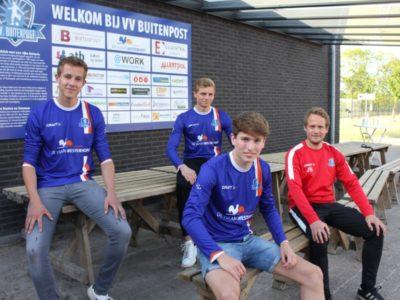 Drie Buitenpost-talenten bij eerste selectie. Foto Paul Loonstra