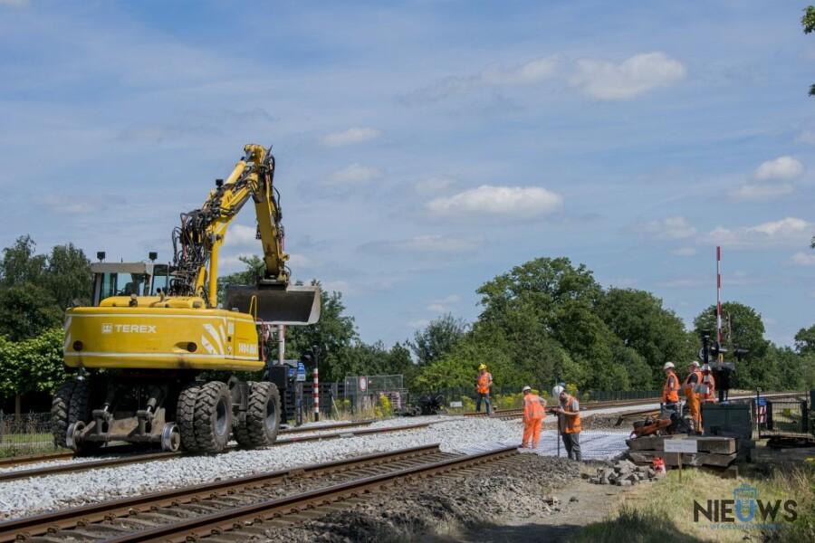 Photo of Spoorwerkzaamheden in volle gang