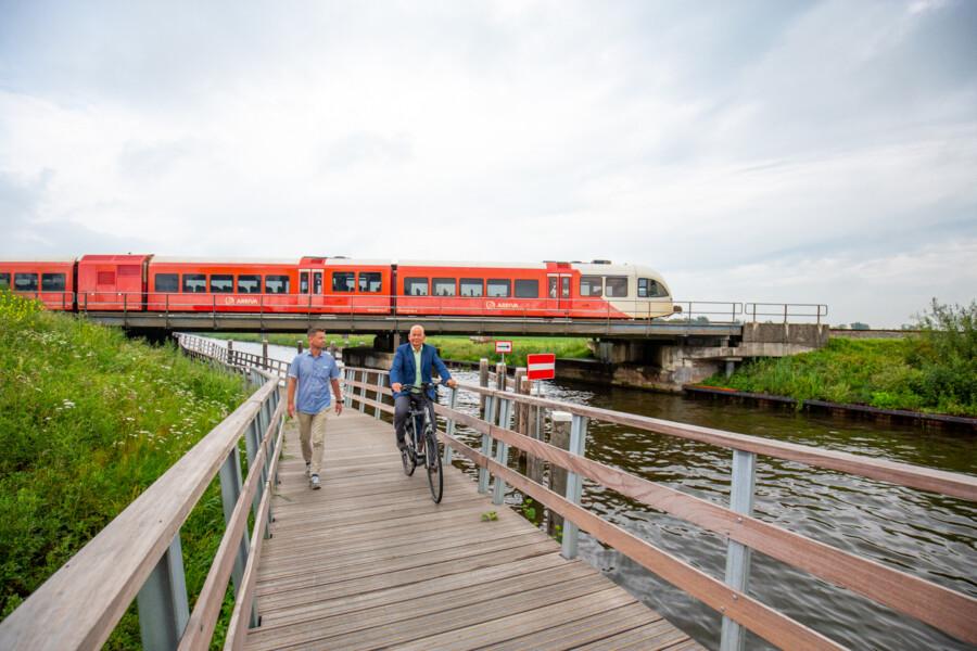 Photo of Fietsonderdoorgang Stroobossertrekvaart in gebruik genomen