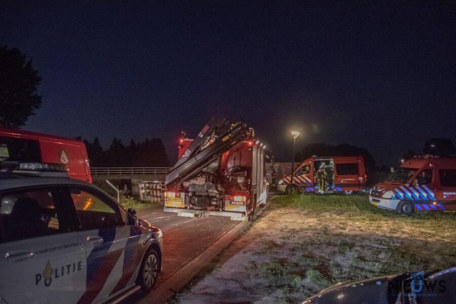 Photo of Hulpdiensten massaal ingezet voor auto te water in Stroobossertrekvaart