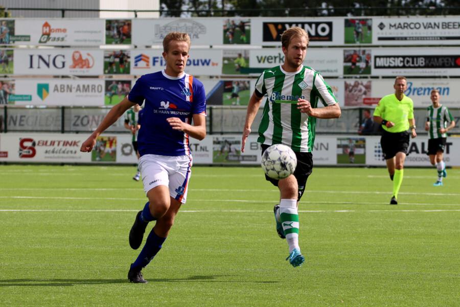 Bernd Douma maakte zeer verdienstelijk zijn debuut