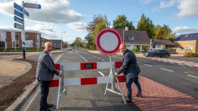 Photo of Groningerstraat in Surhuisterveen eerder open dan gepland