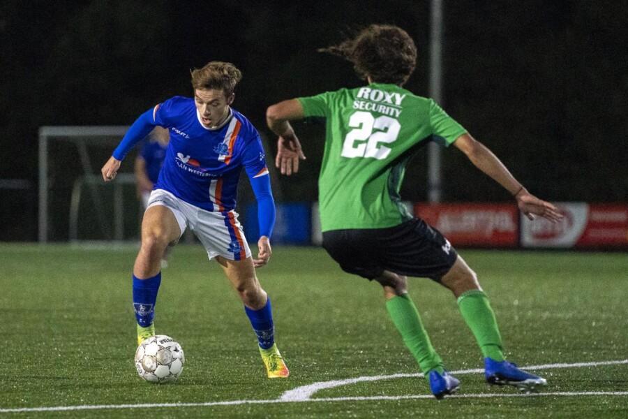 Rik Weening zorgde voor de 1-1