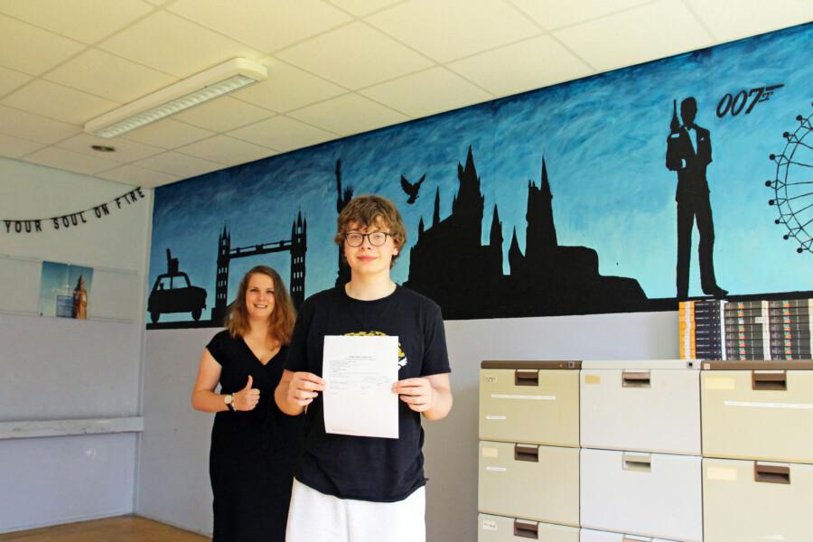 Marc de Jong mavo 3 LC Buitenpost examen Engels IMG_7948