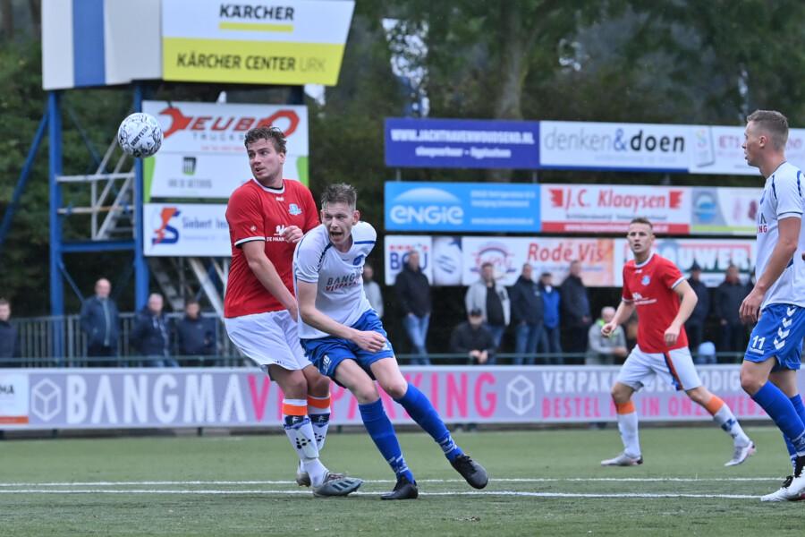 Urk v Buitenpost - Amateurs Hoofdklasse Zaterdag Groep B